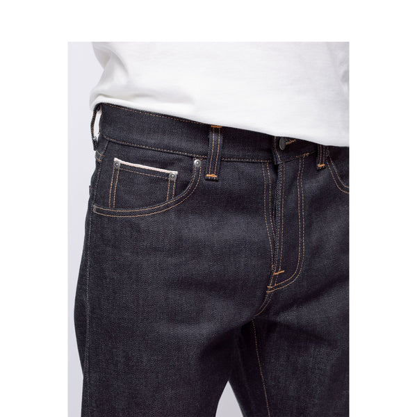 steady eddie II dry ace selvage - nudie jeans - blue