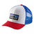 p-6 logo trucker hat - barn - white