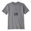 live simply wind powered t-shirt - herr - gravel heather