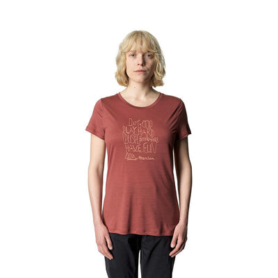 Tree Message Tee - Dessert Rock Red - Dam