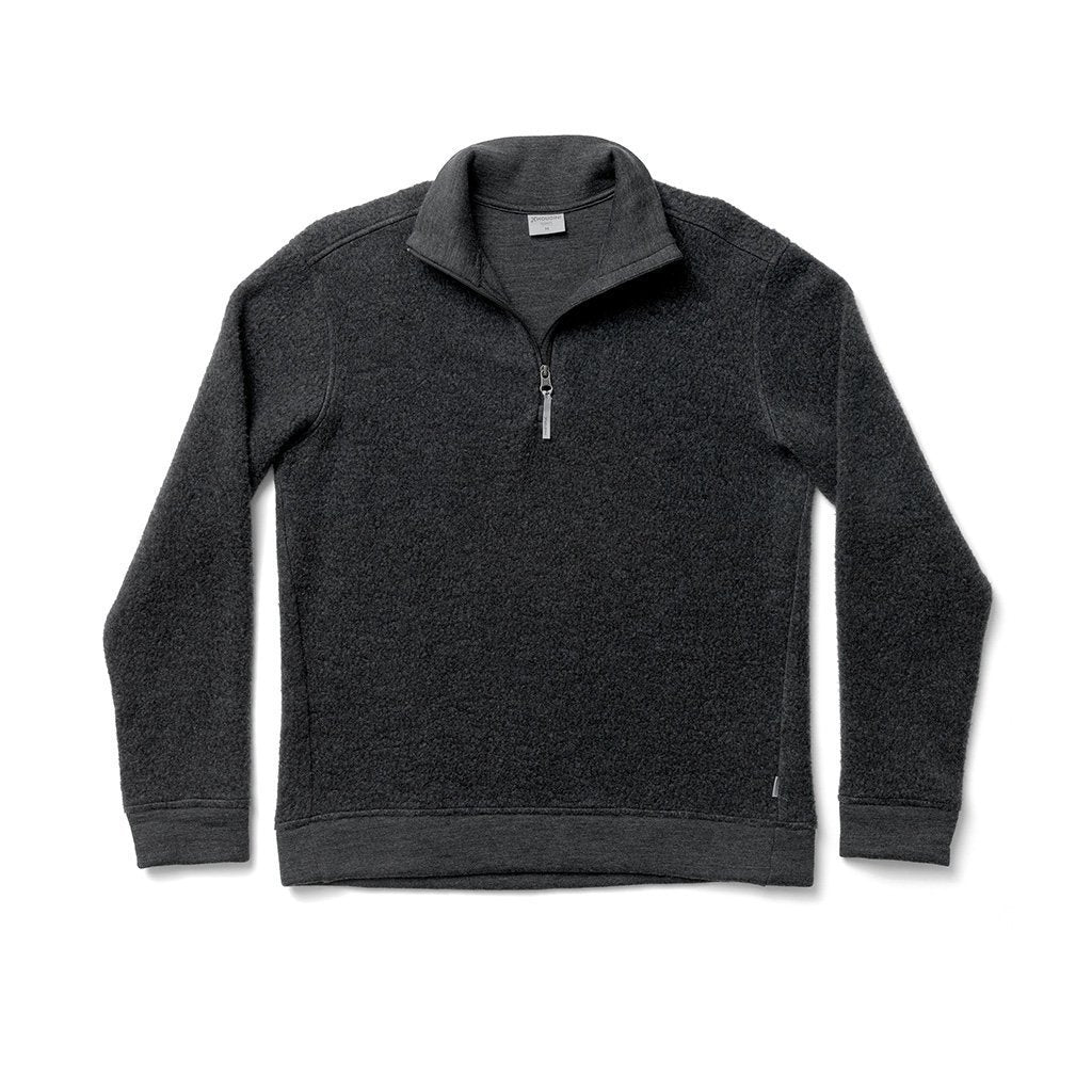 Alto Half Zip - True Black - Dam - Vindpinad