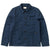 barney worker jacket - herr - indigo blue