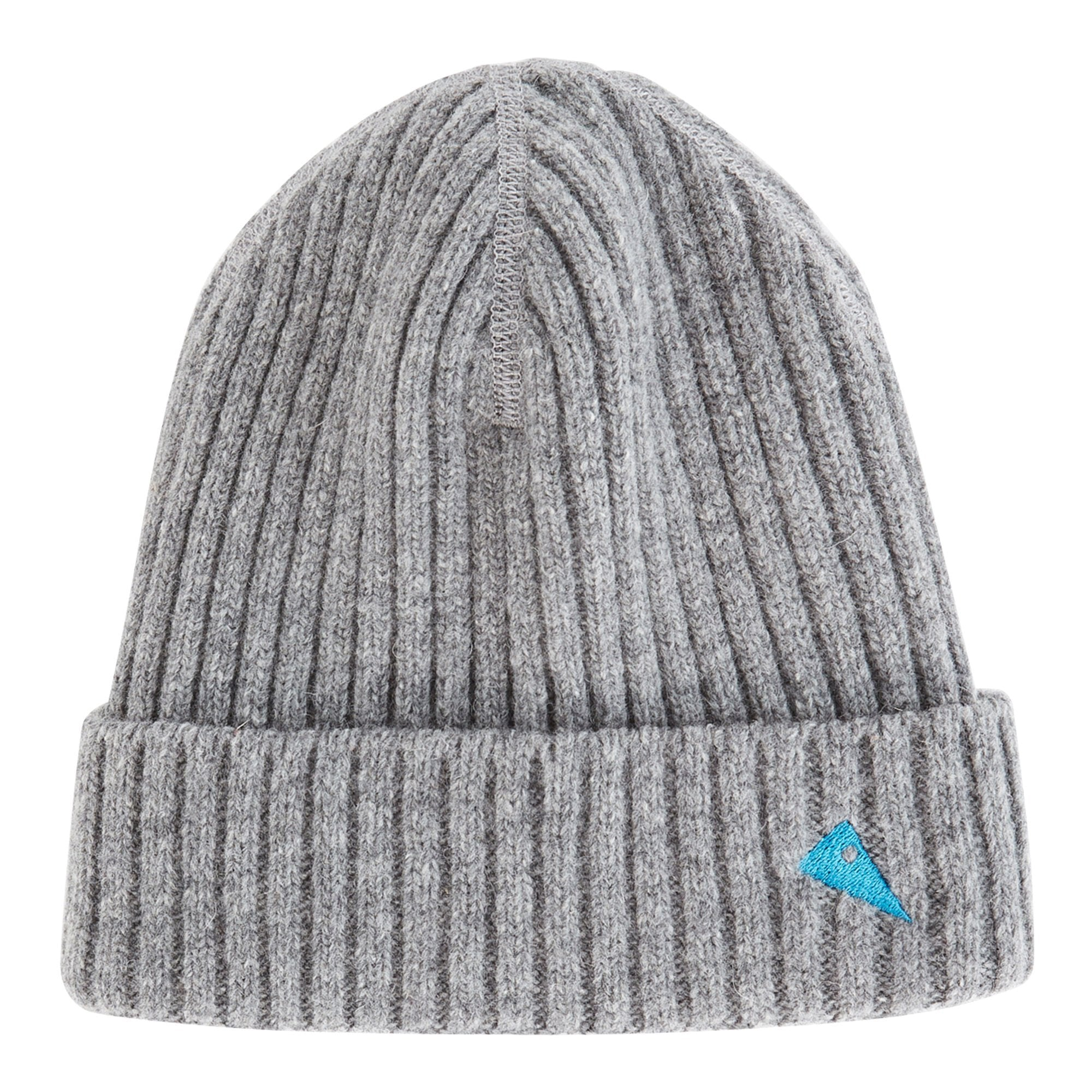 Barre Ribbed Cap - Light Grey - Unisex - Vindpinad