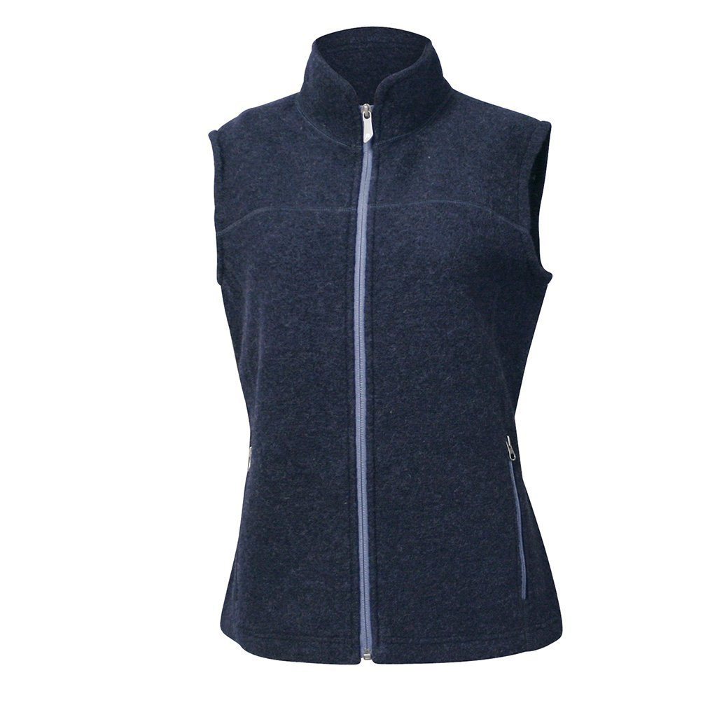 Beata Vest - Light Navy - Dam - Vindpinad