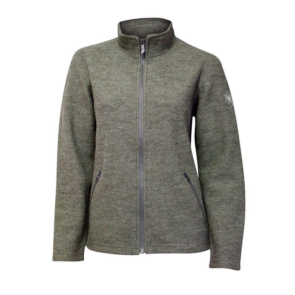 Bella Full Zip - Lichen Green - Dam - Vindpinad