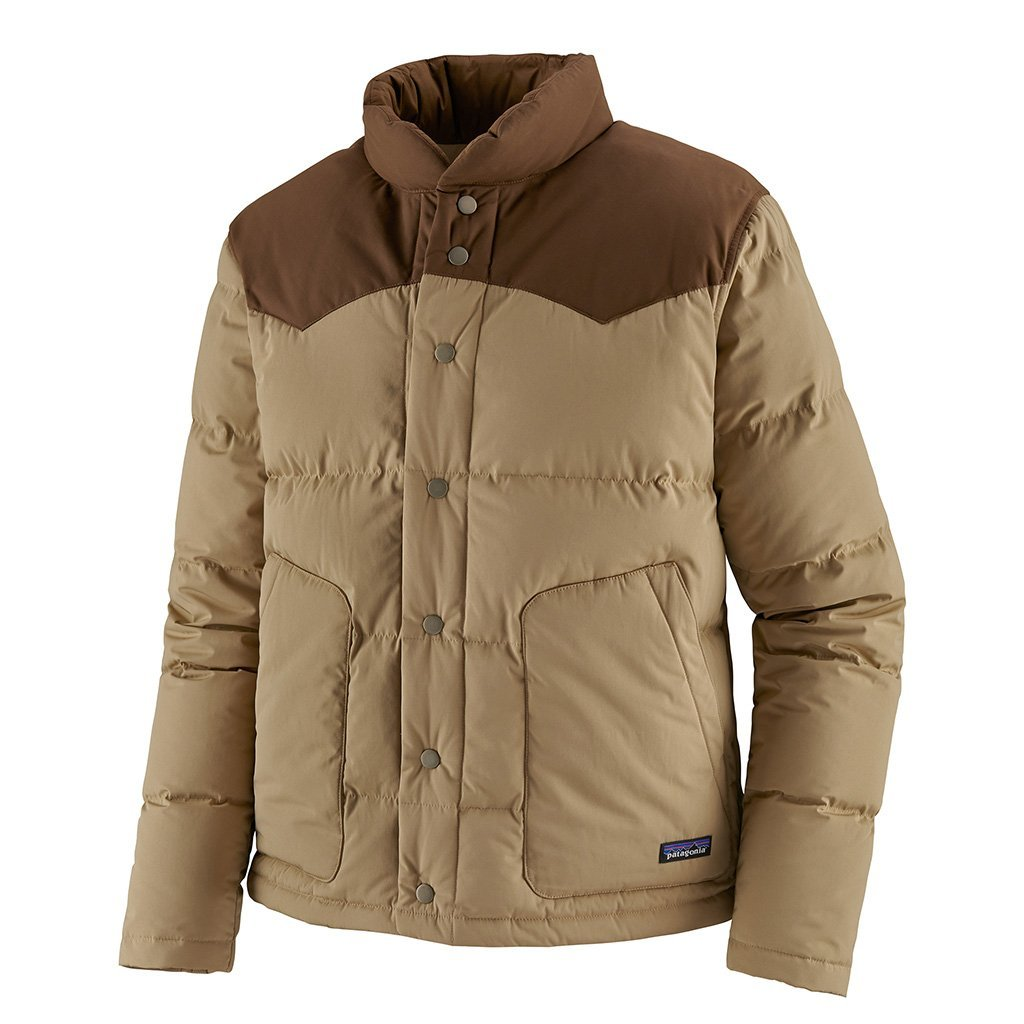 Bivy Down Jacket - Classic Tan - Herr - Vindpinad