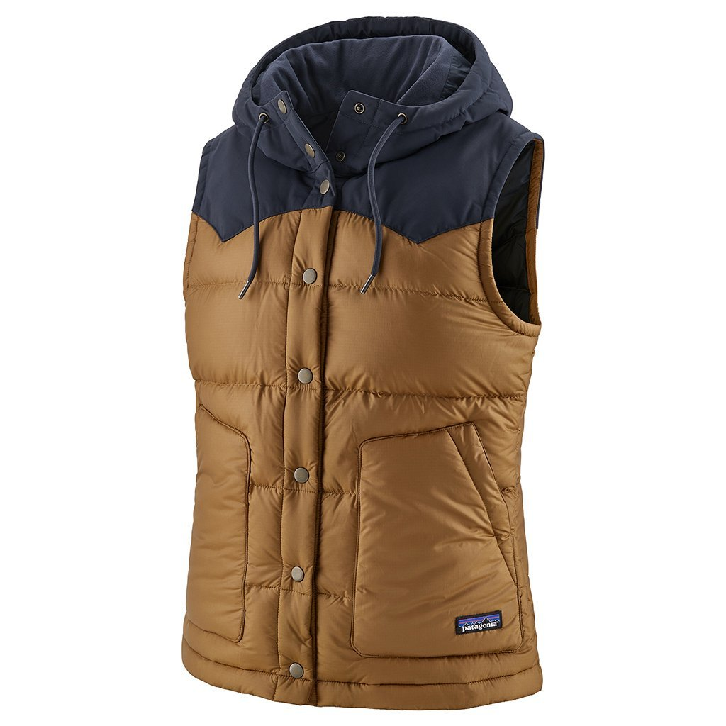 Bivy Hooded Vest - Nest Brown - Dam - Vindpinad