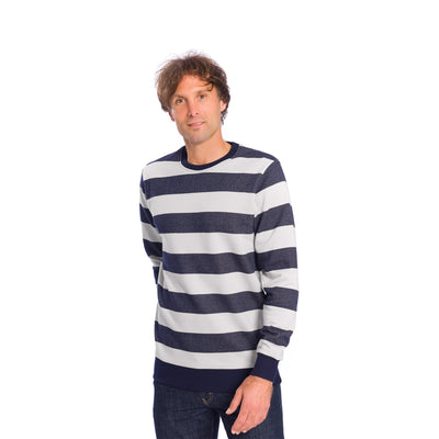 Captains Sweater - Navy - Herr