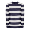 captains pullover - sweatshirt - herr - bleed clothing - navy