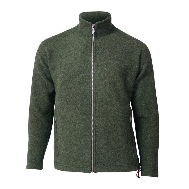 Danny Full Zip - Loden Green - Herr - Vindpinad