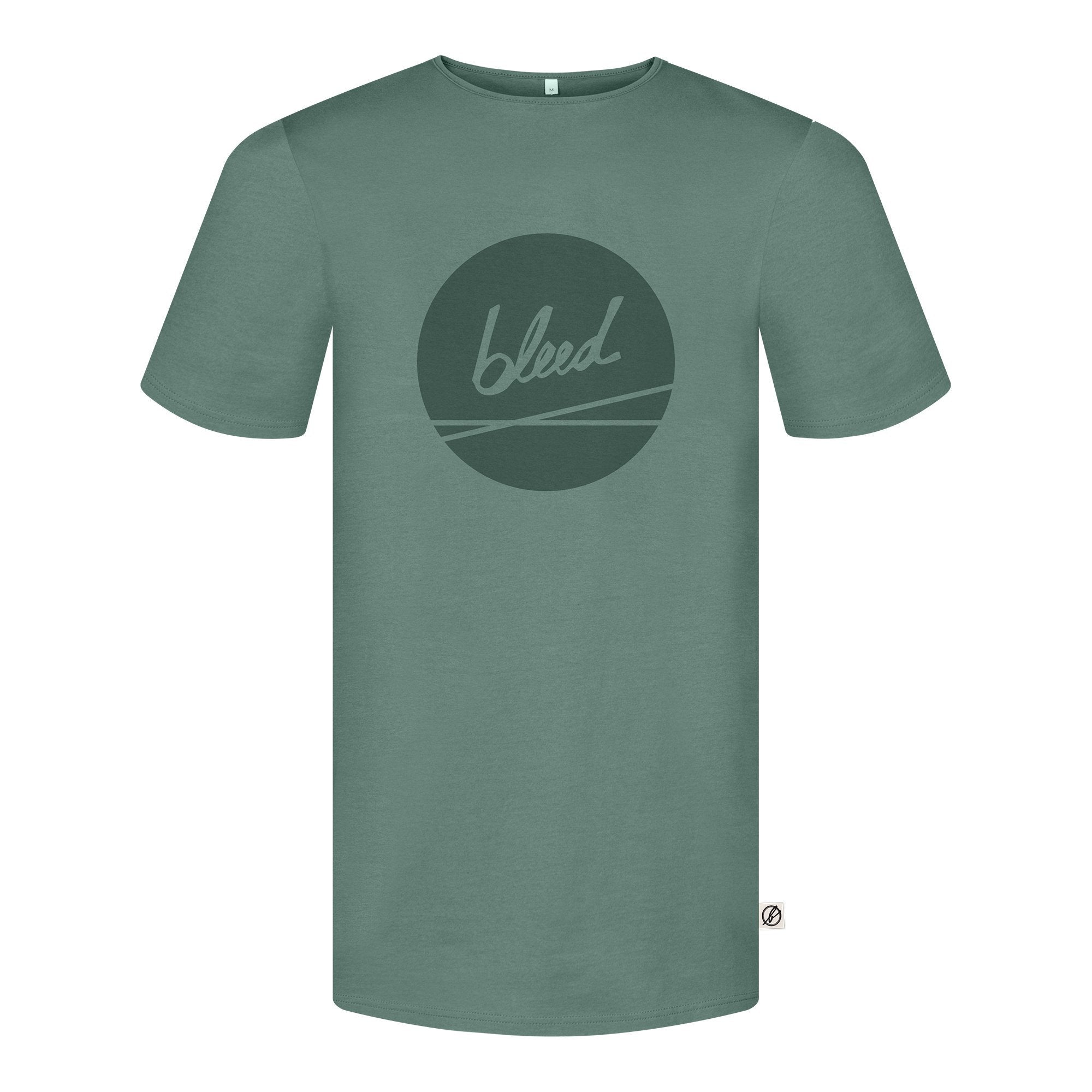 Dot Logo T-shirt - Green - Herr - Vindpinad