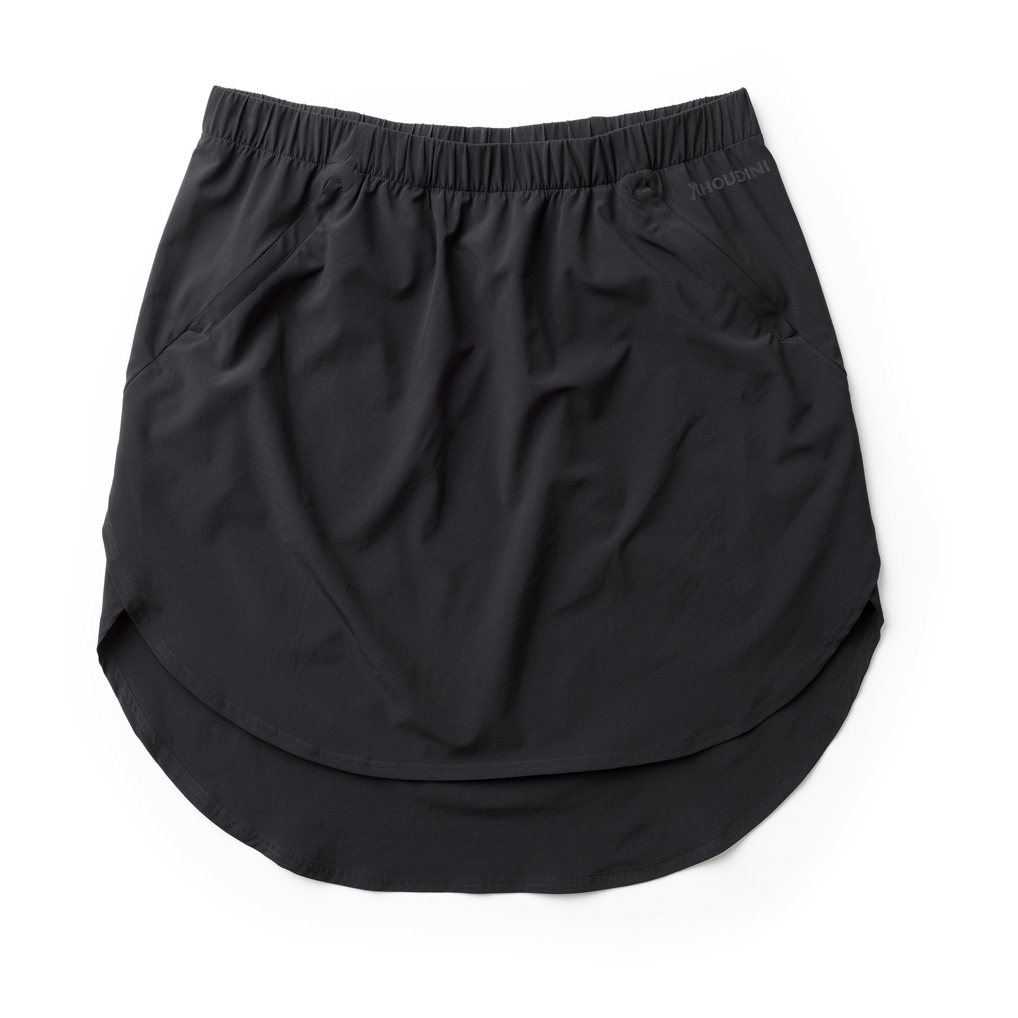 Duffy Skirt - True Black - Dam - Vindpinad