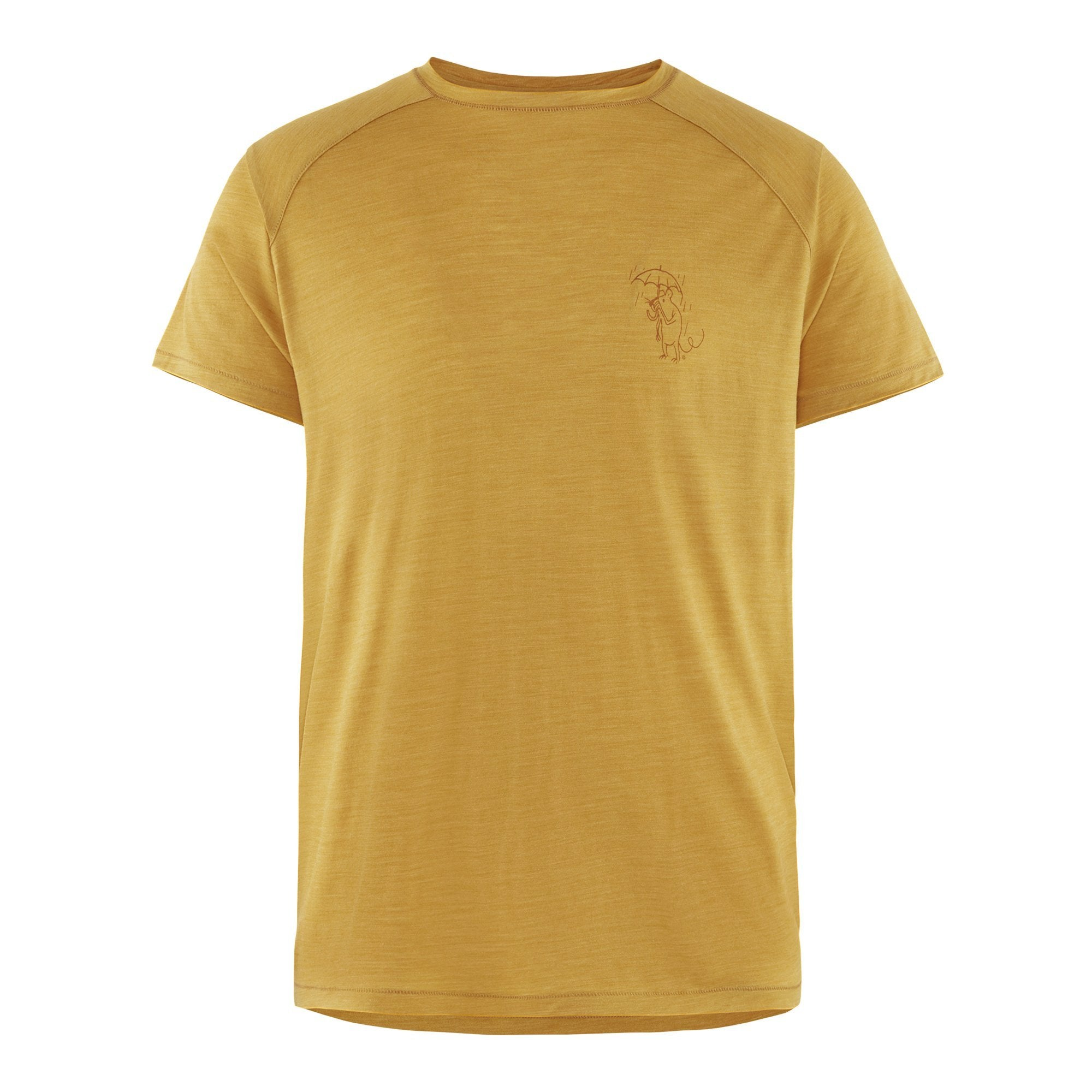 Eir Rain S/S Tee - Dark Honey - Herr - Vindpinad