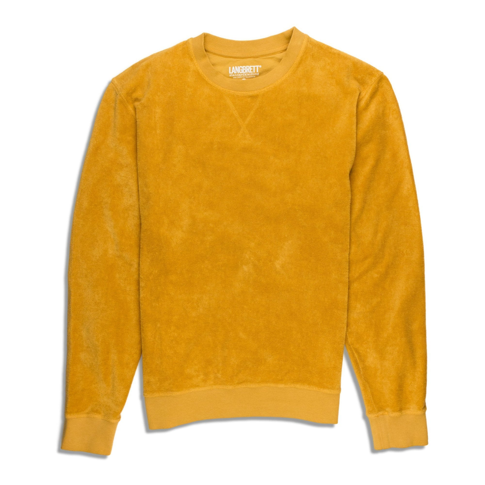 Frottee Sweater - Curry - Unisex - Vindpinad