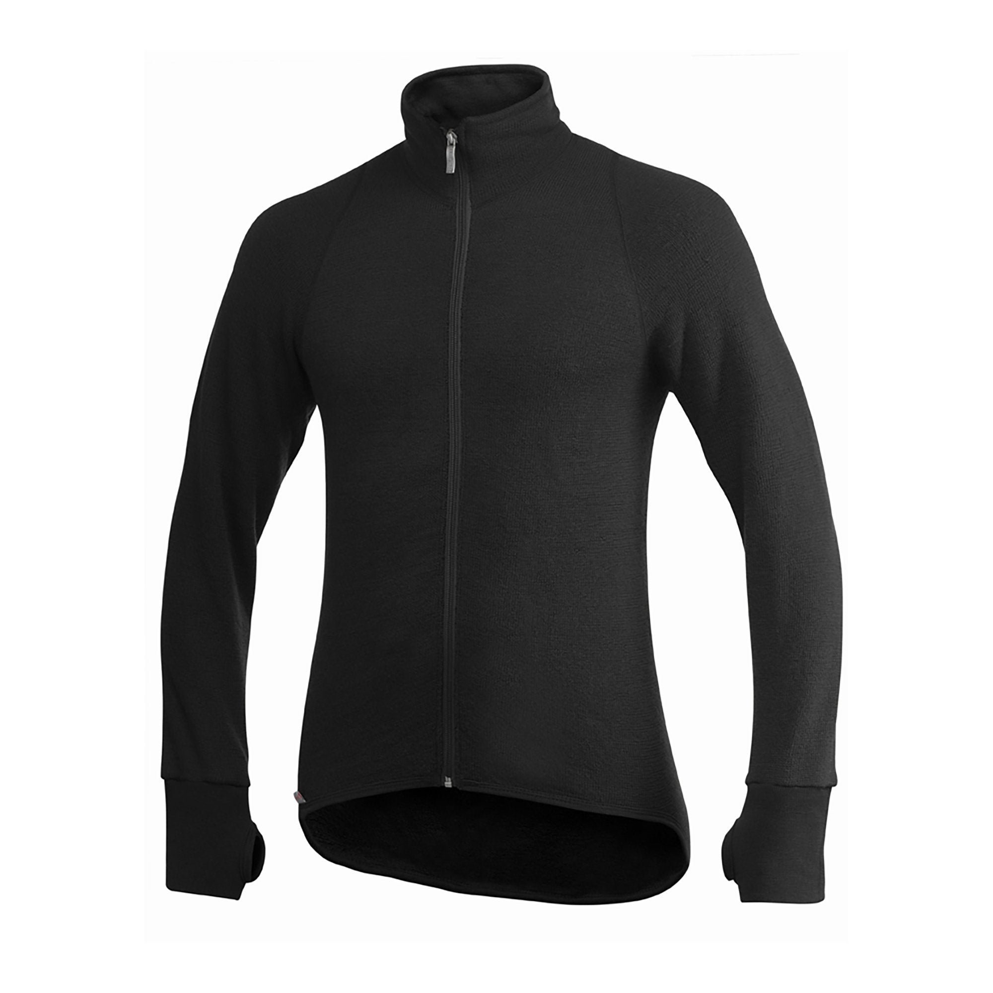 Full Zip Jacket 400 - Black - Unisex - Vindpinad