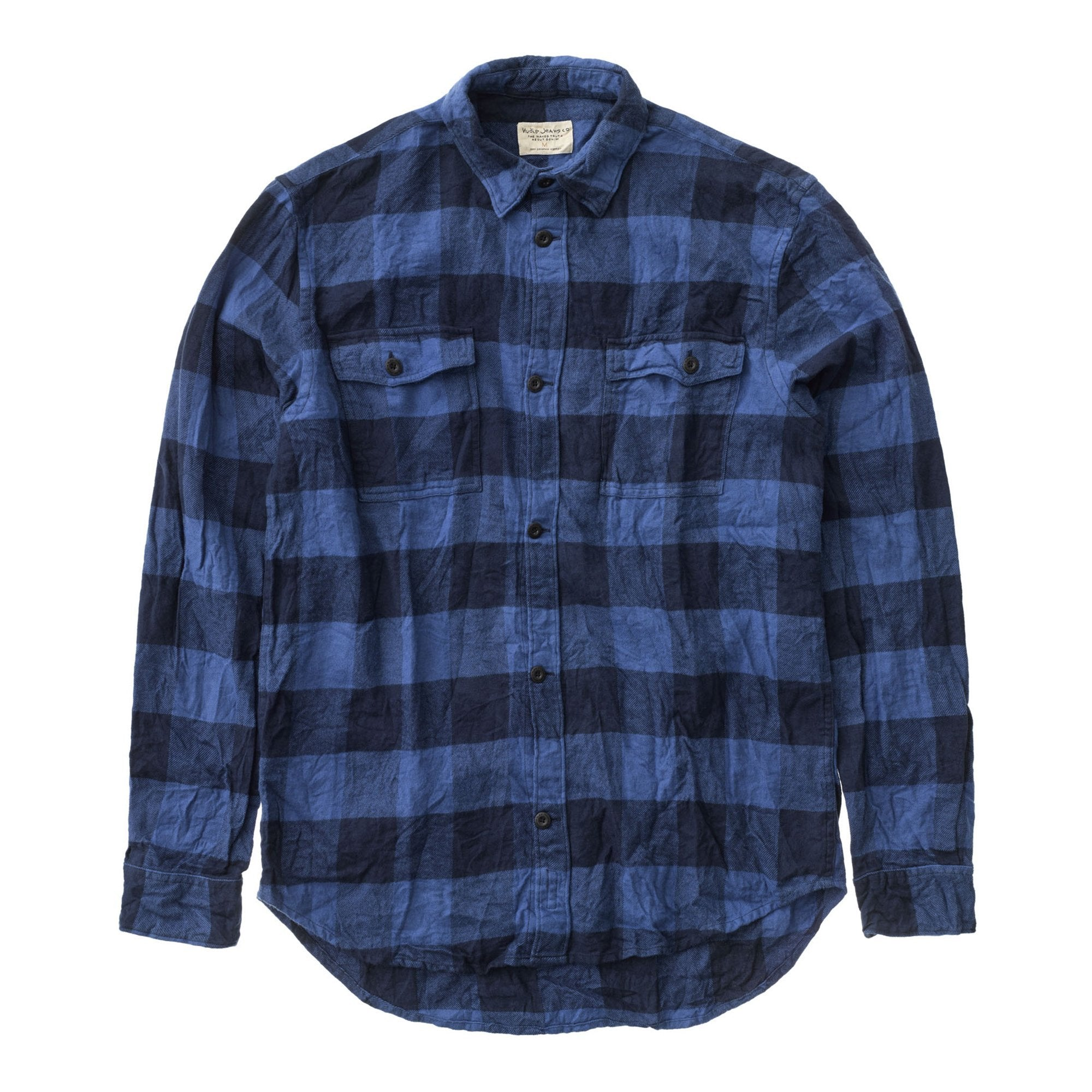 Gabriel Plaid Check - Blue - Herr - Vindpinad