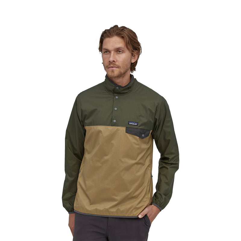 Houdini Snap-T® Pullover - Classic Tan - Herr - Vindpinad