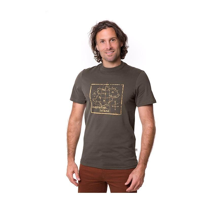 Inspirationalastic T-shirt - Brown - Herr - Vindpinad