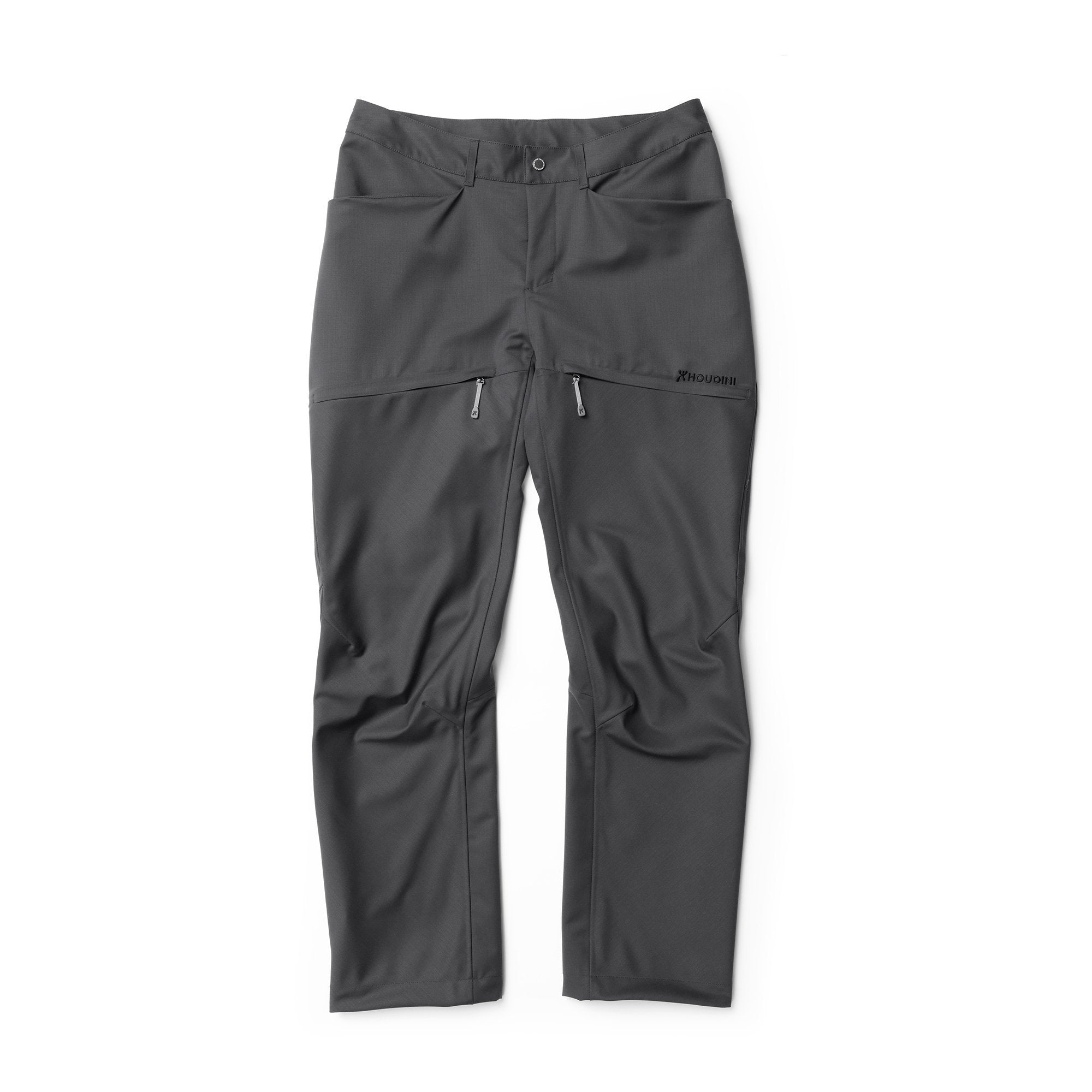 Lana Pants - Scale Grey - Dam - Vindpinad
