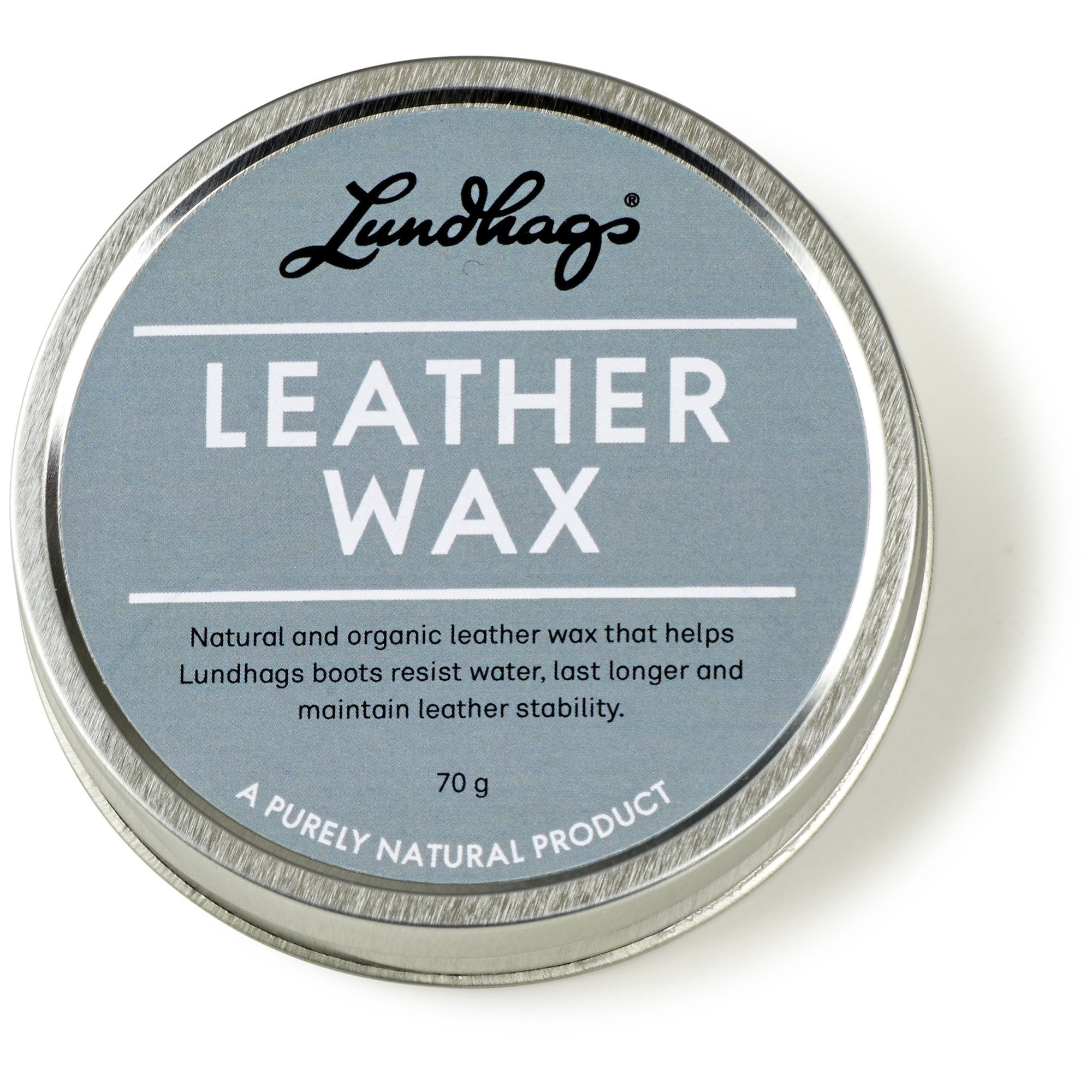 Lundhags Leather Wax - Lädervax - Vindpinad