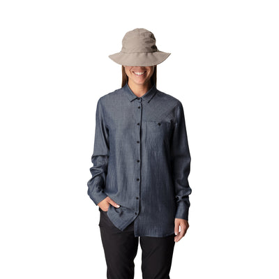 Out and About shirt - Blue Illusion - Dam - Vindpinad