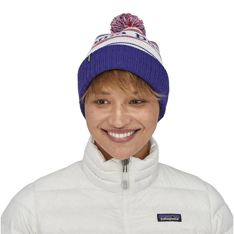 Powder Town Beanie - Park Stripe Viking Blue - Unisex - Vindpinad