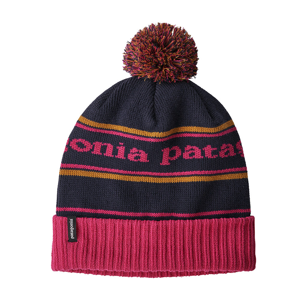 Powder Town Beanie - Park Stripe Craft Pink Navy Blue - Unisex