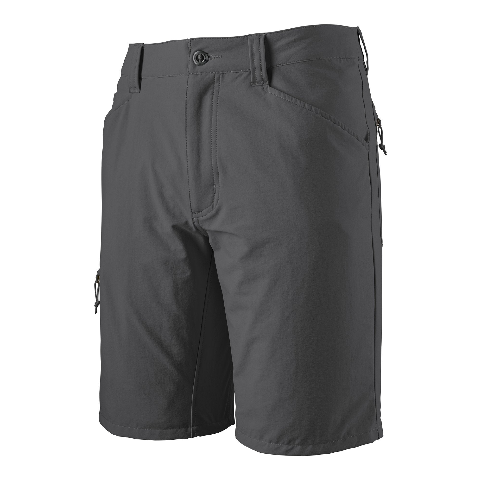 Quandary Shorts 10 inches - Forge Grey - Herr - Vindpinad