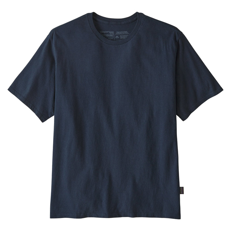 Road to Regenerative Lightweight Tee - New Navy - Herr - Vindpinad