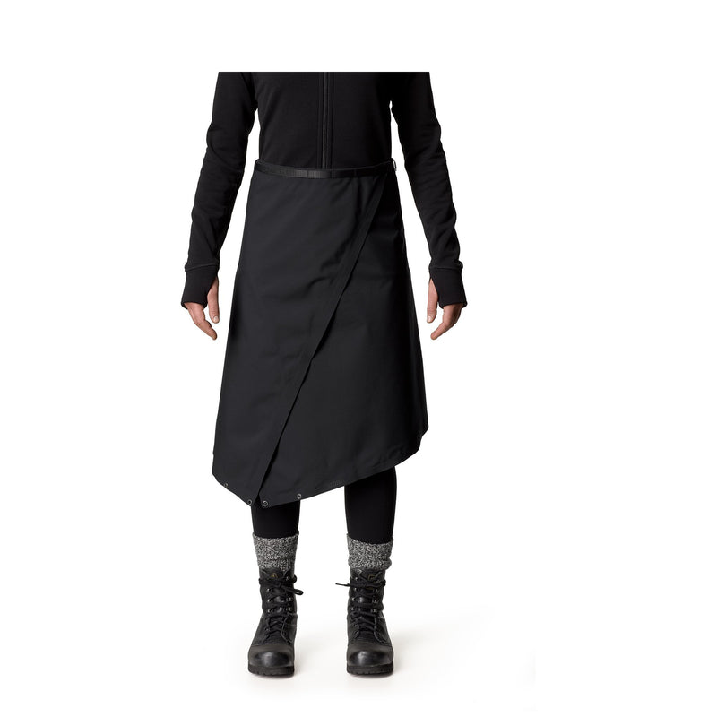The Square skalkjol/kilt - True Black - Unisex - Vindpinad