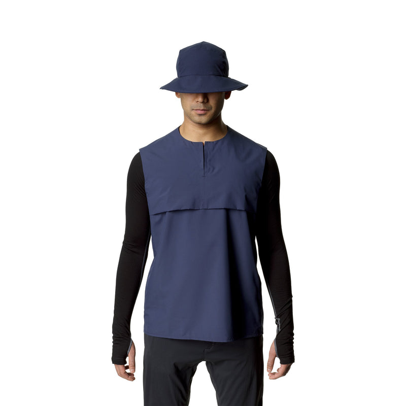 Trail Vest - Bucket Blue - Herr - Vindpinad