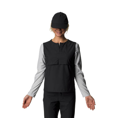 Trail Vest - True Black - Dam - Vindpinad