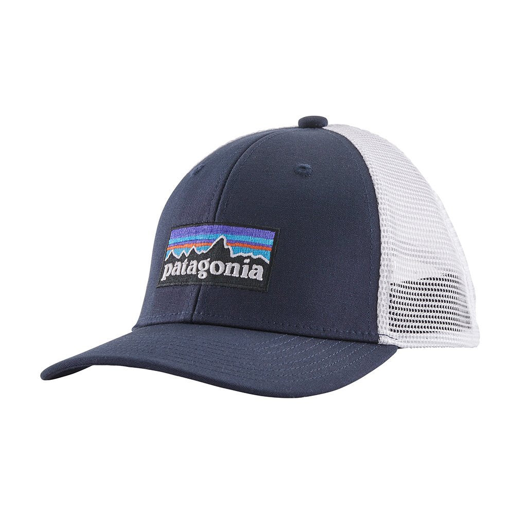 Trucker Hat - P-6 Logo Navy Blue - Barn - Vindpinad