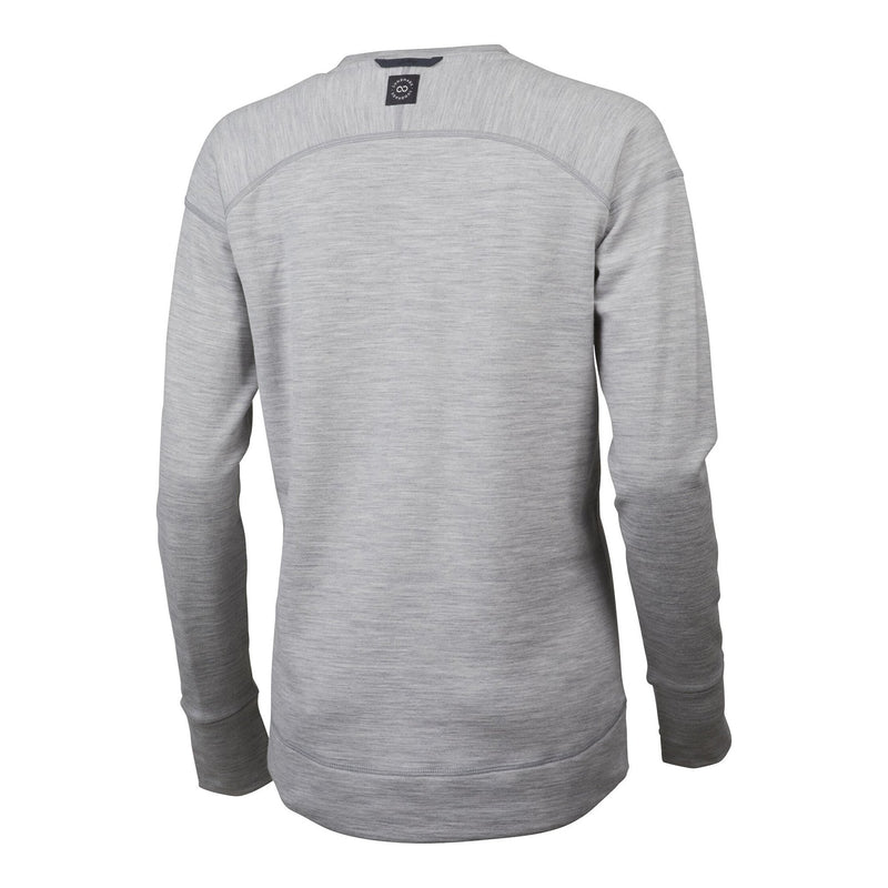 Ullto Merino Crew - Light Grey - Dam - Vindpinad