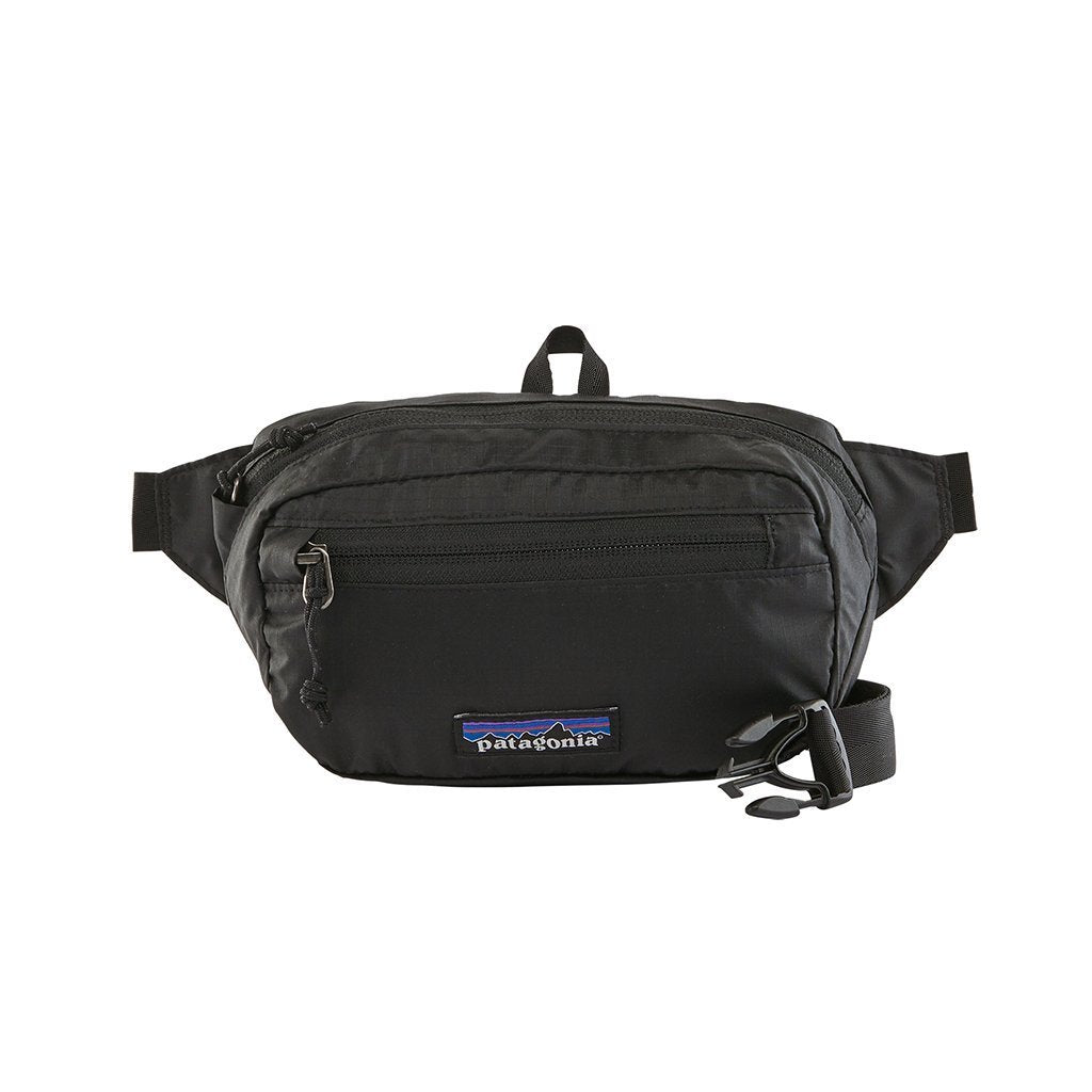 Ultralight Black Hole Mini Hip Pack - Black - Vindpinad