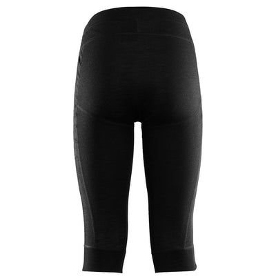 WarmWool 3/4 Summit Longs - Jet Black - Dam