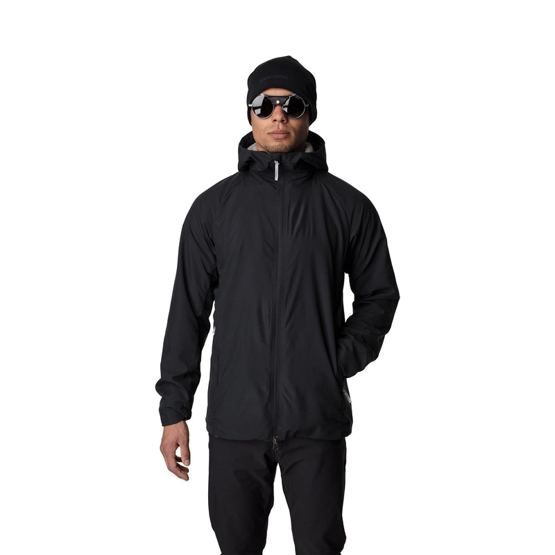 Wisp Jacket - True Black - Herr - Vindpinad