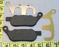 Ultima Premium Made with Kevlar Brake Pads Set Rear 2008-17 Softail Dyna #90-48