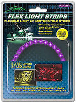 "Street FX RED LED Flex Light Strip 9.5"" 24 LED Lights 480350"