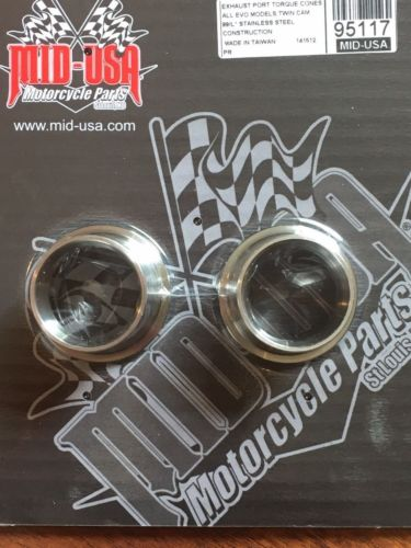 NEW ANTI REVERSION TORQUE CONES 4 HARLEY EVO TC88 1984-UP #95117