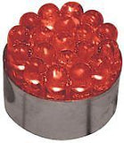 12 Volt Red LED 1157 Dual Filament Taillight Turn Signal Bulb w/ 19 LED's 11819