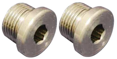 O2 SENSOR BUNG PLUGS 4 HARLEY EXHAUST Use to Plug 18mm O2 Sensor Holes Set of 2