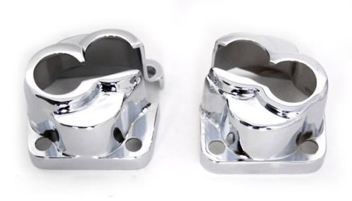 Chrome Evolution Tappet Lifter Block Covers for Harley Big Twin EVO 84-98 420458