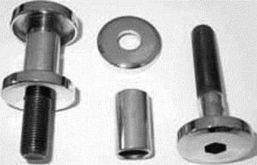 Harley Riser Bolt Set Hex Head Style 1//2-13 x 3-3//4 Chrome Colony 2139-4