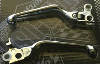 CHROME V-Factor Hand Levers Brake Clutch XL 96-03 All 96-UP except 08-UP Touring