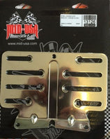 CHROME STEEL LICENSE PLATE BRACKET MOUNT fits HARLEY TOURING MODELS 09-UP #13126