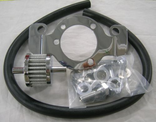 Air Filter Support Bracket Crankcase Breather Adapter Kit Harley EVO & Twin Cam Models