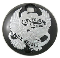 Black Eagle Spirit LIVE TO RIDE Touring Fuel Tank Console Door FL '08-18 80106
