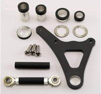 Ultima Black 4 Piston Caliper & Front Bracket Kit for 1984-1999 Harley Springer