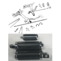 CCI 17546 Deluxe Chrome Forward Control Kit w/ Pegs 91-03 Harley Sportster XL